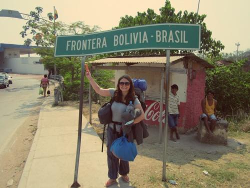 Cruzando a fronteira, de volta as terras brasileiras