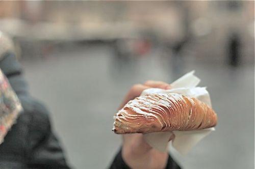 Cornetto Napoletano alla crema