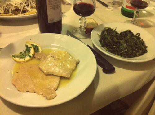 Comida italiana: Frango com molho de limão siciliano