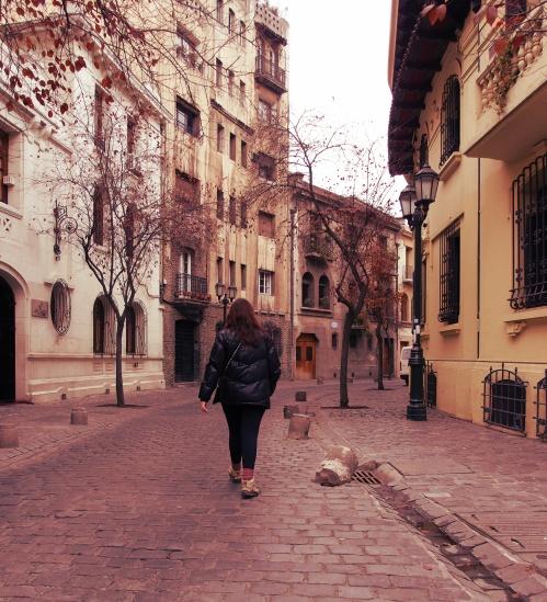 Bairro Paris-Londres - Santiago - Chile - Mochilão América do Sul