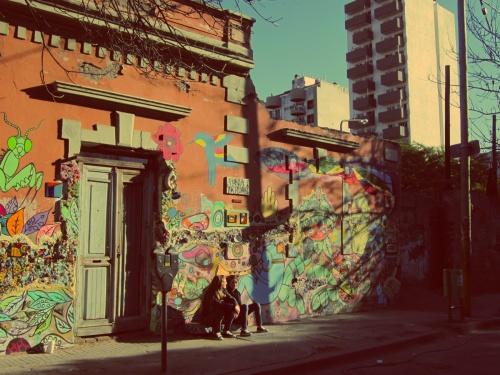 Muros coloridos de Córdoba
