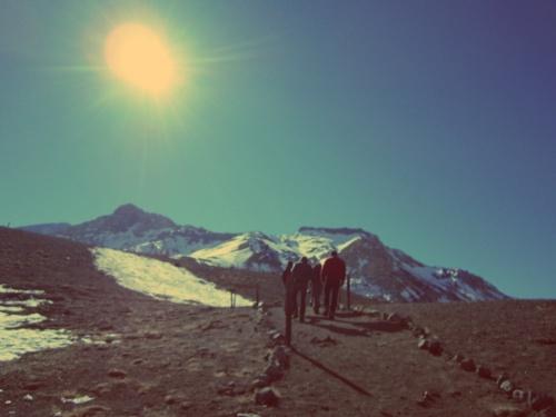 Cordilheira dos Andes - Mendoza - Argentina - Mochilão América do Sul