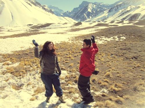 Cordilheira dos Andes - Mendoza - Argentina - Mochilão América do Sul1