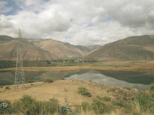 Viajando pelos povoados de Cusco, Peru.