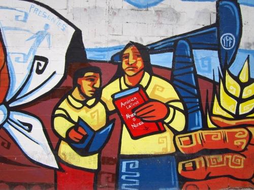 Muros expressivos de Buenos Aires