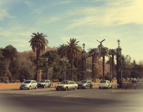 Parque San Martín - Mendoza - Argentina - Mochilão América do Sul