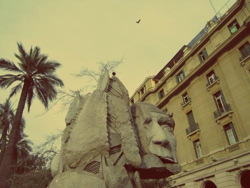Plaza de Armas - Santiago - Chile - Mochilão América do Sul