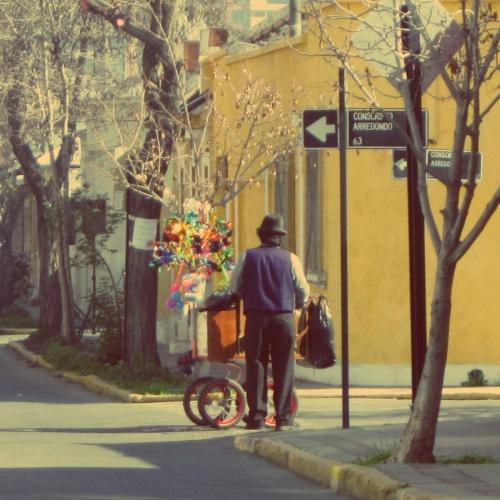 Vendedor de Cataventos - Santiago - Chile